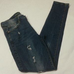 Old Navy Rokstar mid-Rise skinny jeans size 6 Tall